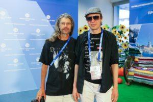 Александр Фролов и Найк Борзов
